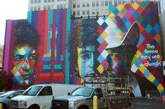 Watch a time-lapse video of Bob Dylan mural being painted in Minneapolis   Local Current Blog   The Current from Minnesota Public Radio