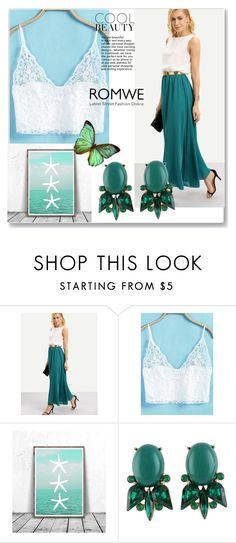 """""""ROMWE 2./6"""" by passionforstyleandfashion ❤ liked on Polyvore featuring Bodas"""