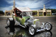 Rat Rod Studio features the hot rod artwork of Bob Kramer and is your source for custom hot rod art. Hot Rods, Ford Classic Cars, Classic Trucks, My Dream Car, Dream Cars, T Bucket, Classic Hot Rod, Us Cars, Custom Cars