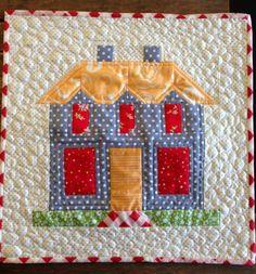"dream quilt create: ""Farm House Lane"" quilt block"