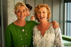 From Director Of Photography - John Brawley's twitter – behind the scenes- Offspring season 5 - Offspring's writer Debra Oswald and Asher Keddie