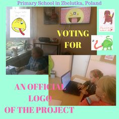 Voting for the official logo of our project by Primary School in Zbelutka