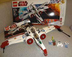 Lego Arc-170 Starfighter Kit set w/ box (8088) 4 Minifig Minfigures NO RESERVE!