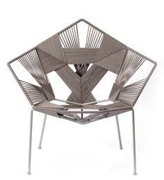 The latest addition to the Gaga & Design woven furniture collection- Awesome design!