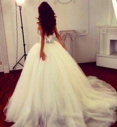 Como una princesa.