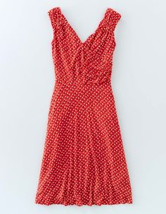 Georgia Jersey Dress WW014 Clothing at Boden