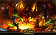 """This kingdom is burning. #wow #worldofwarcraft You can use code """"game9"""" for cheapest wow gold on safewow.com. #warcraft"""