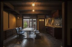 モダニズム町家 ~ 厨子二階再生考・其の一 ~ | 施工事例 | AIC