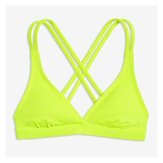 8ccdac9767361 Cool down on a hot day with our halter bikini top finished with stylish  double cross