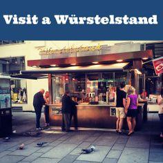 When in Vienna visit a würstelstand
