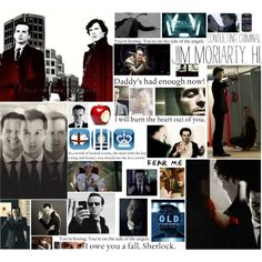 """""""Jim Moriarty"""" by baker-street-girl on Polyvore"""