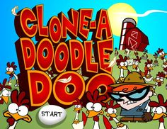 In this Dexter's Laboratory Game online our cartoon hero is in a farm with lots of cloned chickens. Put some fence post around so you can catch them all with in the time.