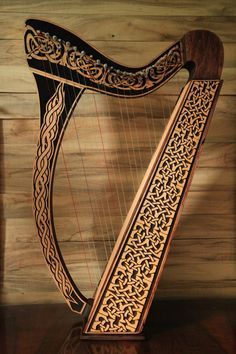 Celtic Instruments, Musical Instruments, Celtic Music, Celtic Art, Celtic Decor, Celtic Dragon, King Ragnar Lothbrok, Medieval Music, Contemporary Christian Music