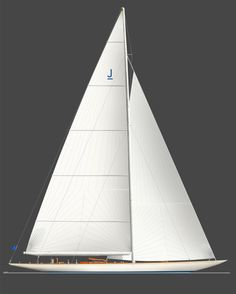 Yacht design by Sparkman & Stephens. Simplicity always catch your eyes for a perfect design. Yacht Design, Boat Design, Classic Sailing, Classic Yachts, J Class Yacht, Yacht Boat, Wooden Boats, Wooden Sailboat, Speed Boats