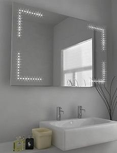 Zen LED Mirror h:600 x w:900 x d:45 mm