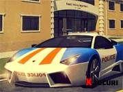 Parcheaza masina de politie