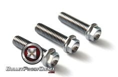 [ ] Titanium Turbo Bolts, Ford 6.0L, Pack of 3 #Turbo #Diesel #Upgrade