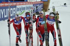 Proud of being Norwegian!!! Number 1, 2, 3 and 4.