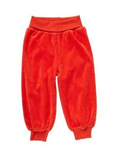 ej sikke lej Hose Velour Basic Pants orange