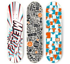 220+ Stunning Creative Skateboard Graphics. Skate DecksSkateboard DecksSkateboard designSnowboard ...