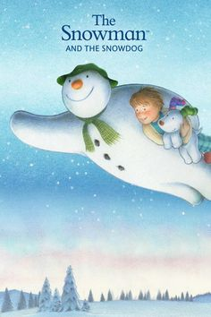 The Snowman And The Snowdog Wonderful Dad Christmas Card