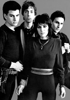 Joan Jett and the Blackhearts-saw them at the Northern Wisconsin State Fair. She's definitely a rocker!!