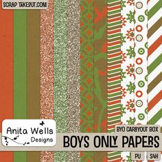 Boys Only Paper Pack