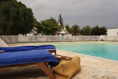 Trullo Fumarola's 10 x 10 mt pool is entirely fenced in for complete peace of mind and security.
