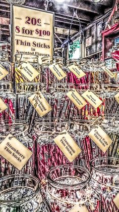 Candy Shop Peppermint Sticks Americana Food by RuthandIdgies