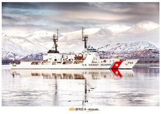 U. S. Coast Guard Cutter Munro in Alaska.  She was and remains an important part of my life and I'll cherish every day I served on her. - Photo by Adina Preston
