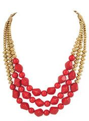 Red Petra Necklace