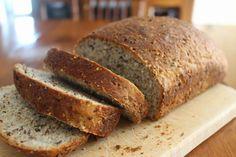 À vos fourneaux: Pain multi-grains Pains, Banana Bread, Pizza, Desserts, Food, Recipes, Meal, Deserts, Essen