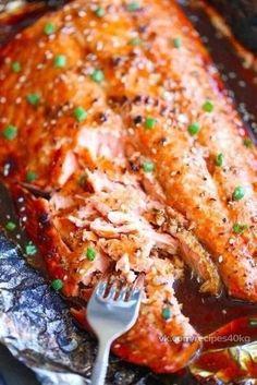 Рыба в фольге. подборка низкокалорийных блюд .кушайте правильно!