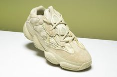 c4d1640a8a0 Yeezy Supply just dropped the adidas Yeezy Desert Rat 500 Super Moon Yellow  as part of a three-piece bundle package.