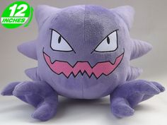 Pokemon Haunter Plush Doll PNPL6095 | 123COSPLAY | Anime Merchandise Shop Free Shipping From China | Anime Wholesale $21