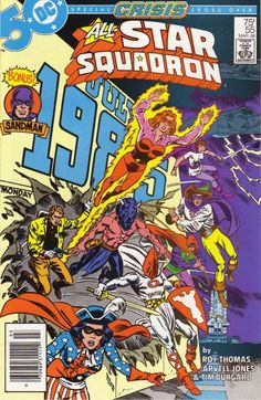 Cover for All-Star Squadron (DC, 1981 series) #55