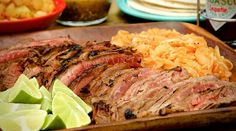 Grilled Skirt Steak & Chipotle Onions Recipe on Yummly