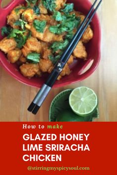 How to make Glazed Honey Lime Sriracha Chicken?Glazed Honey Lime Sriracha ChickenLooking for something that is sweet, tangy, spicy and finger-licking good in your recipes? Go for Glazed Honey Lime Sriracha Chicken, I bet you cannot go wrong. If you have guests over for dinner, they will be in awe of the in-home-chef, that is YOU! This easy chicken recipe will make you look that good.#Chicken Recipes #Glazed Honey Lime Sriracha Chicken #Recipes with Sriracha Sauce