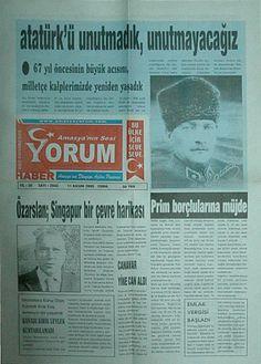 Amasya'nın sesi Yorum Gazetesi 2005