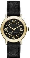 Women's Marc Jacobs 'Riley' Leather Strap Watch, 28Mm