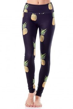 Gold Sheep Clothing Pineapple Party Long Legging
