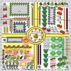 Garden plans kitchen garden potager the old farmer s almanac Kitchen Garden Plants, Arcade, Vegetable Garden Planning, Vegetable Gardening, Potager Garden, Herb Garden, Plan Potager, Old Farmers Almanac, Garden Journal