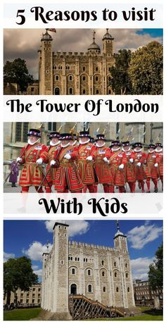 5 Reasons to visit the Tower of London with kids