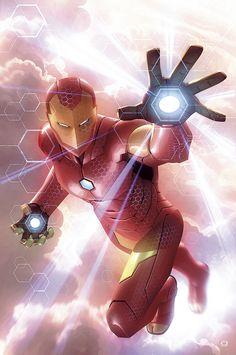 Invincible Iron Man by Alex Garner ↩☾それはすぐに私は行くべきである。 ∑(O_O;) ☕ upload is LG G5/2016.10.05 with ☯''地獄のテロリスト''☯ (о゚д゚о)♂