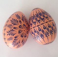 Your place to buy and sell all things handmade Plastic Eggs, Egg Designs, Easter Projects, Using Acrylic Paint, Egg Art, Light Turquoise, Egg Decorating, Ball Ornaments, Christmas Balls