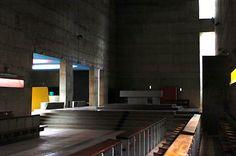 La Tourette Monastery Eveux-sur-l'Abresle by Le Corbusier