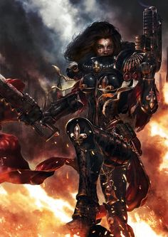 warhammer-fan-art:  by m1ken