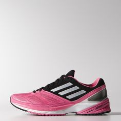 Run on solid ground with these women's shoes. They are made with forefoot,  midfoot