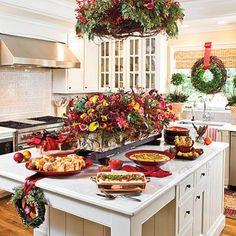 Lovely Christmas breakfast buffet