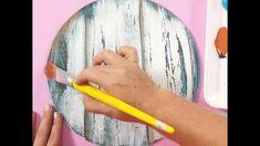 Decoupage Vintage, Decoupage Art, Antique Mailbox, Distress Ink Techniques, Painted Wooden Signs, Wooden Cutouts, Art Prints For Home, Art Decor, Decoration